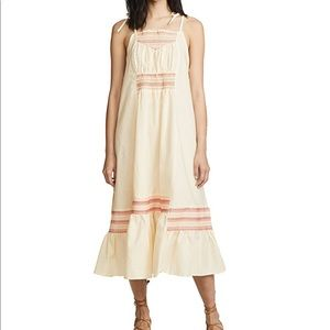 Free People Another Love Smocked Dress